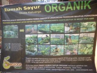Pamflet Home Industry Rumah Sayur Organik
